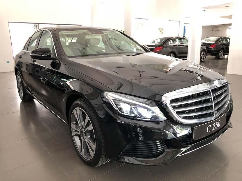Giới thiệu xe Mercedes C250 Exclusive 2018, thông số kỹ thuật và giá bán xe C250