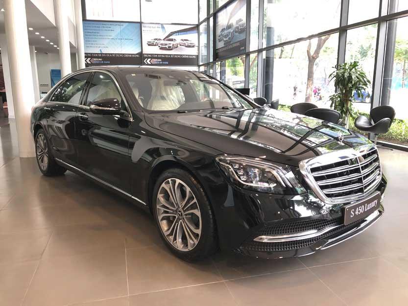 Giới thiệu xe Mercedes S450 Luxury 2018, thông số kỹ thuật và giá bán xe S450 Luxury