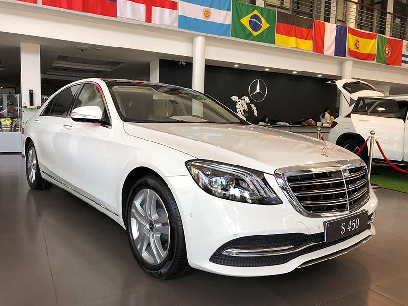 Giới thiệu xe Mercedes S450L 2018, thông số kỹ thuật và giá bán xe S450
