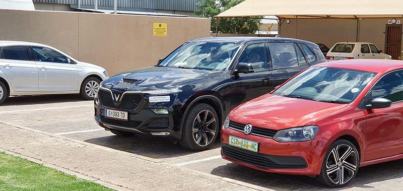Vinfast Lux SA xuất hiện trên đường phố Nam Phi, một số chi tiết mới lộ diện