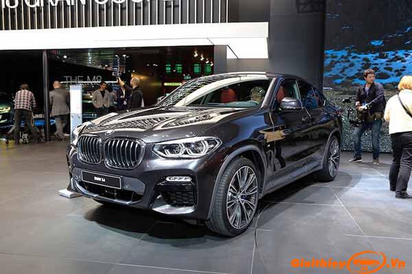 Chi tiết xe BMW X4 2019, giá bán kèm giá lăn bánh tháng 12/2019