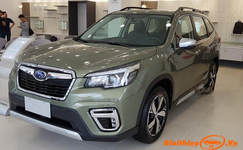 Đánh giá xe Subaru Forester 2019, giá bán kèm khuyến mại 09/2019