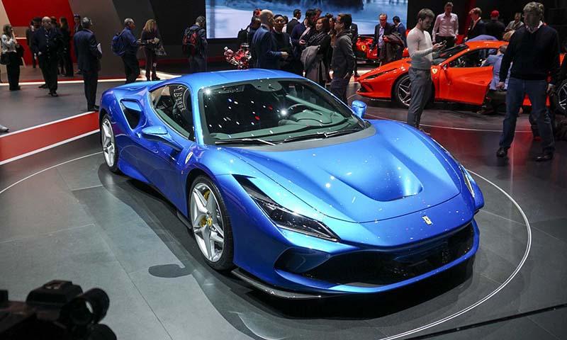 Ferrari F8 Tributo đang chào bán tại Việt Nam có giá khởi điểm khoảng 21 tỷ