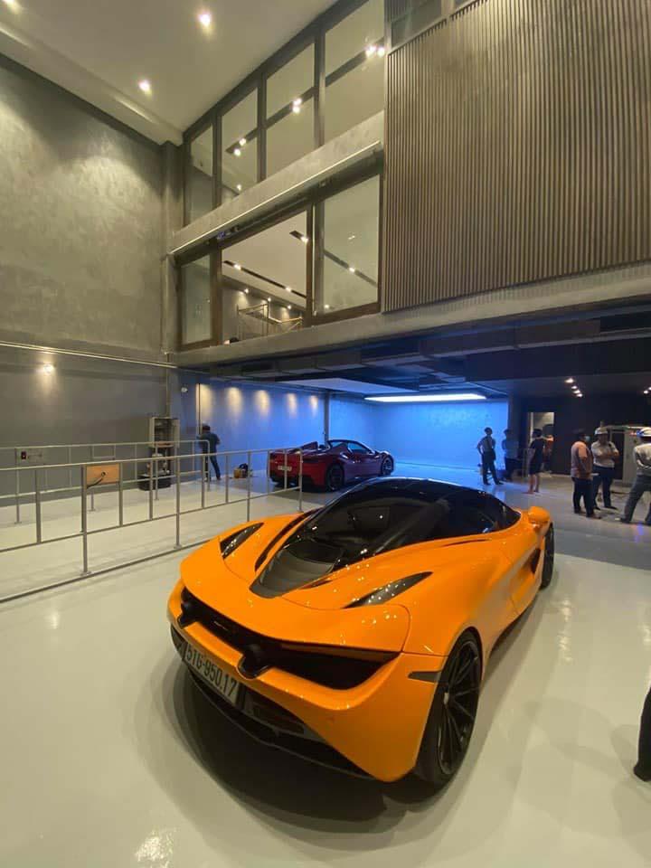 Một số hình ảnh Gara xe nhà mới của Cường