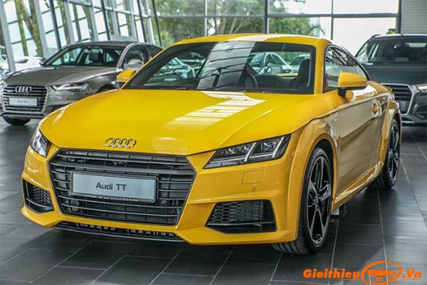 Chi tiết xe Audi TT 2020 Coupe 2, kèm giá bán tháng 05/2020