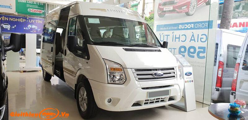Chi tiết xe Ford Transit Limited 2019, kèm giá bán 08/2019