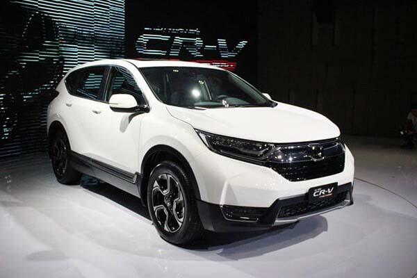 Giá xe Honda CRV 2019 mới nhất, đánh giá xe Honda CRV 05/2019