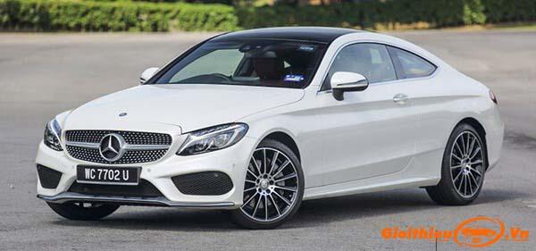 Chi tiết xe Mercedes-Benz C300 Coupe 2020, giá bán kèm giá lăn bánh tháng 02/2020