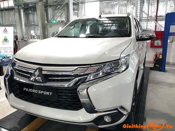 Chi tiết xe Mitsubishi Pajero Sport máy dầu số tự động kèm giá bán (07/2019)