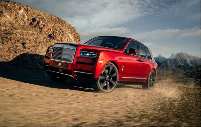 Bảng giá xe Rolls Royce 2019 mới nhất tháng 11/2019