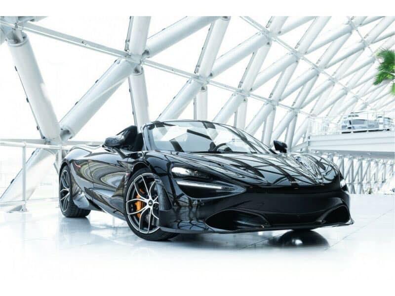 Chiếc McLaren 720S Spider thứ 5 về Việt Nam, sở hữu mầu sắc và nội thất khác biệt so với chiếc còn lại