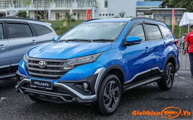 Chi tiết xe  Toyota Rush 2020, kèm giá bán mới nhất tháng 02/2020