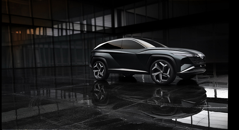 Hyundai Tucson 2021 chuẩn bị ra mắt, nội thất giống các mẫu xe vừa ra mắt