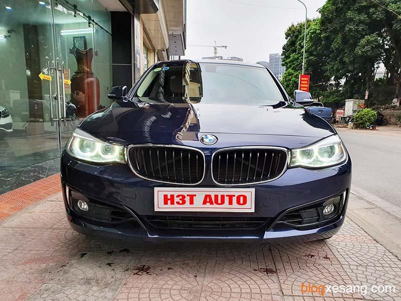 Xe BMW 320i cũ đời 2015 màu Xanh Đen cực đẹp bản Full chạy zin 35000 km