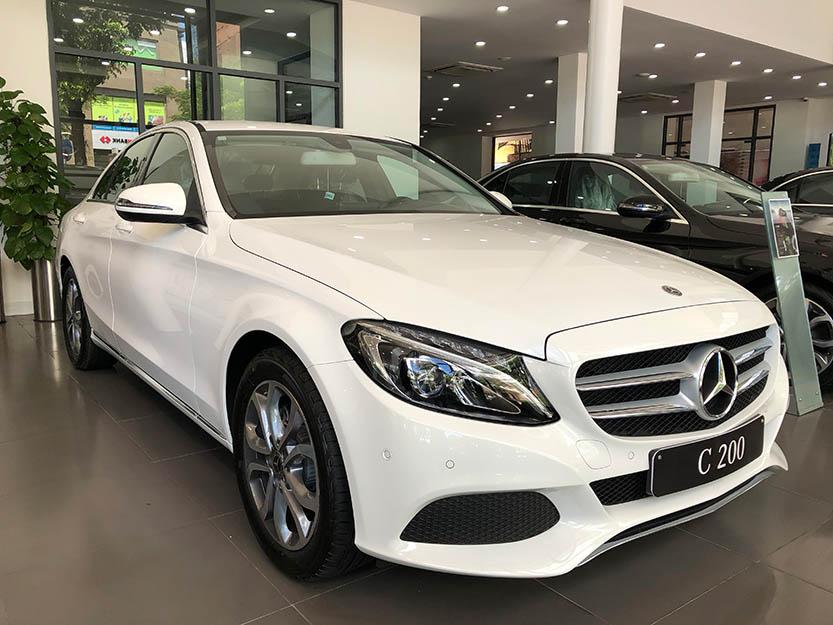 Giới thiệu xe Mercedes C200 2018, thông số kỹ thuật và giá bán xe Mercedes C200
