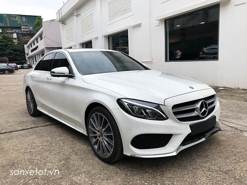 Giới thiệu xe Mercedes C300 AMG 2018, thông số kỹ thuật và giá bán xe C300 AMG