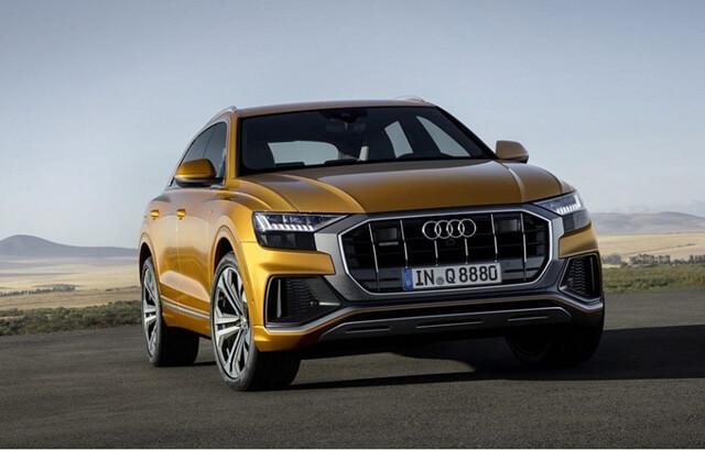 Audi Q8 TFSI e Quattro 2021 Suv Coupe siêu tiết kiệm, chỉ 3lit/100km