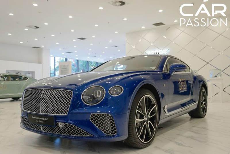 Chi tiết xe Chi tiết xe Bentley Continental GT, kèm giá bán mới nhất tháng 11/2019