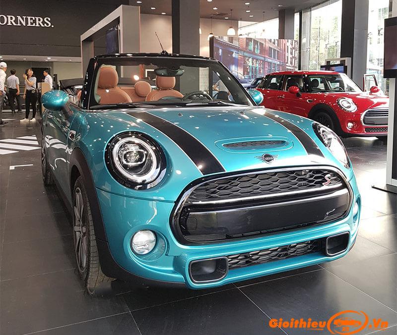 Chi tiết xe Mini Cooper Convertible 2019, kèm giá bán 07/2019