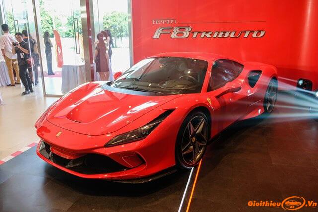 Chi tiết xe Ferrari F8 Tributo, thông số kĩ thuật kèm giá bán tháng 06/2020