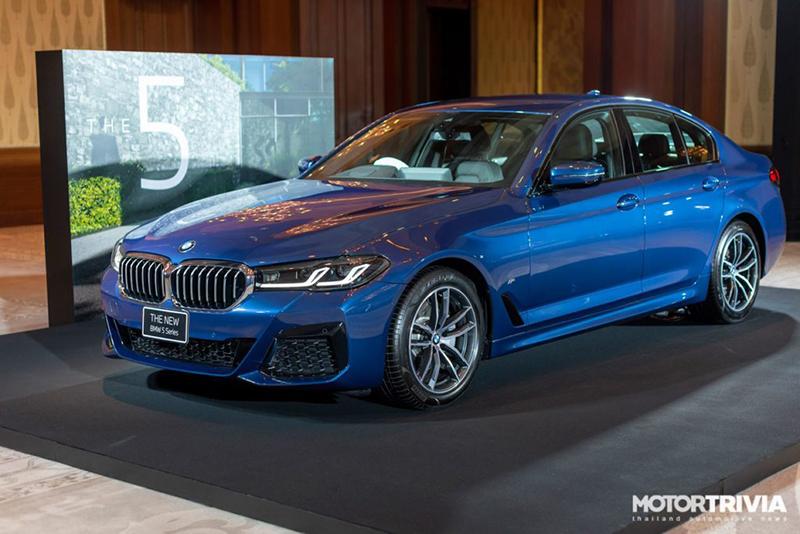 BMW 5 Series 2021 ra mắt tại Thái Lan, giá bán từ 100.200 usd