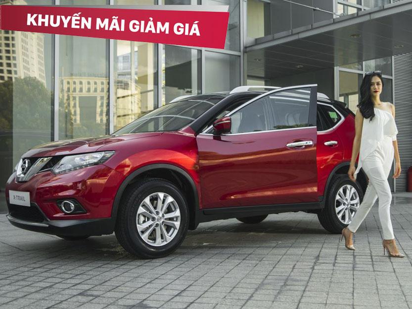 Cơ hội vàng nhận khuyến mại lên tới 50 triệu khi mua Nissan X-Trail