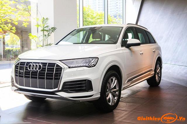 Chi tiết xe Audi Q7 2021 mới, kèm giá bán tháng 06/2021
