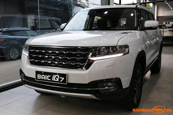 Đánh giá xe BAIC Q7 2020, thông số kĩ thuật kèm giá bán tháng 08/2020
