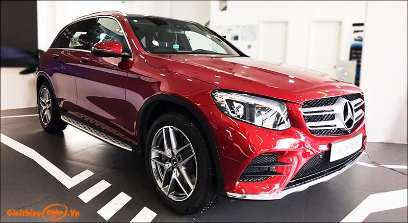 Chi tiết Mercedes GLC 300 4Matic 2020, kèm giá bán mới nhất tháng 03/2020