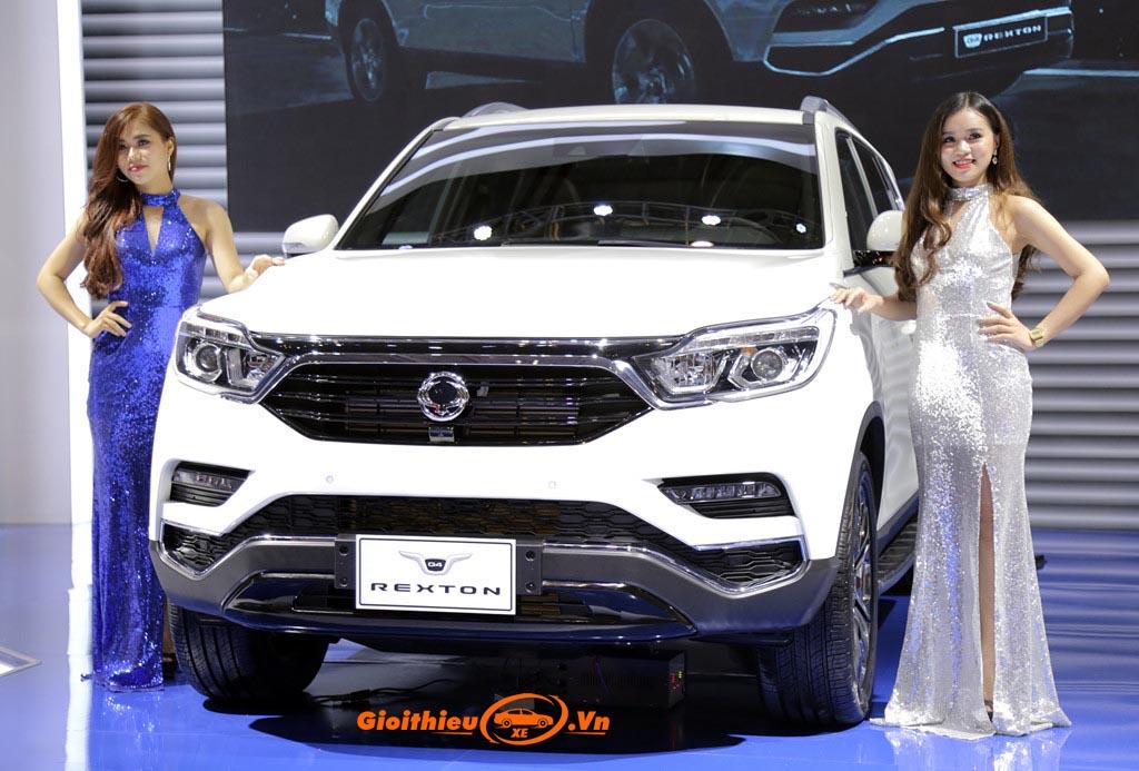 Đánh giá xe Ssangyong G4 Rexton 2019, kèm giá bán 08/2019