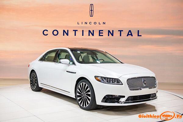 Bảng giá xe Lincoln 2020 cập nhật tại Việt Nam tháng 07/2020