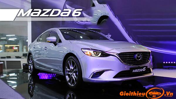 Mazda 6 2019. Giá bán xe kèm giá lăn bánh 08/2019