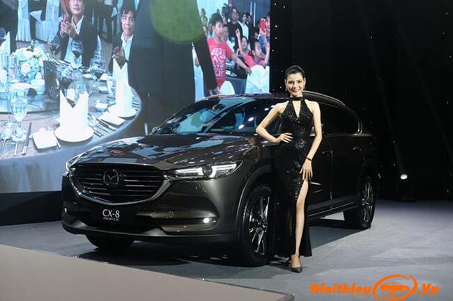 Lễ ra mắt xe Mazda CX8 2019, kèm theo giá bán chính thức chỉ từ 1,149 tỷ đồng