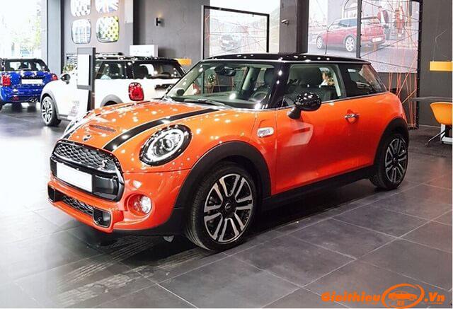 Bảng giá xe Mini Cooper mới nhất 02/2021