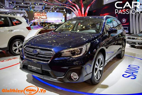 Đánh giá xe Subaru Outback 2019, giá bán kèm khuyến mại 09/2019