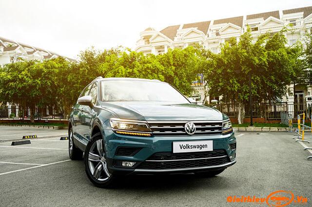 Đánh giá xe Volkswagen Tiguan Allspace Luxury 2019, kèm giá bán  07/2019
