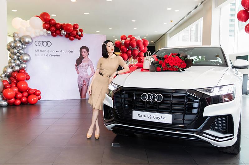 Ca Sĩ Lệ Quyên sở hữu Audi Q8 chính hãng đầu tiên tại Việt Nam