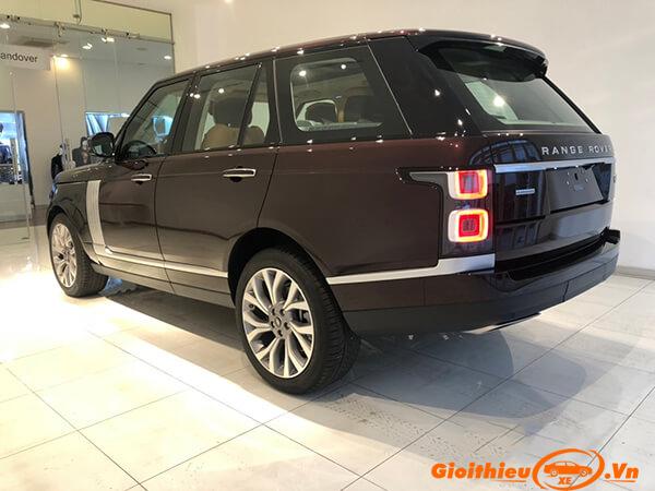Chi tiết xe Range Rover 2019, kèm giá bán 07/2019
