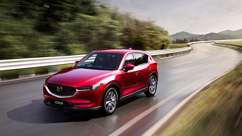 Mazda CX5 có giá bán chỉ từ 879tr động cơ 2.5 vô cùng mạnh mẽ