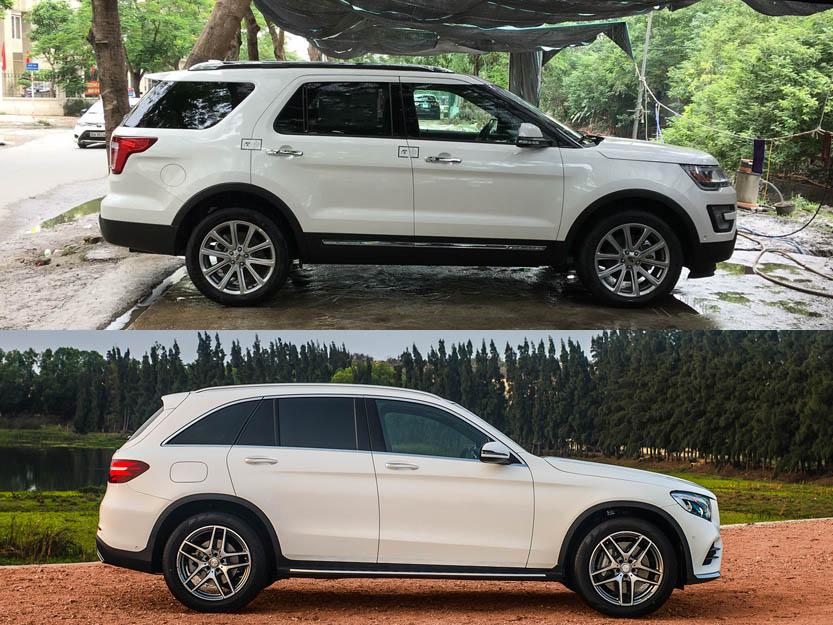 Nên chọn Ford Explorer hay Mercedes GLC300?