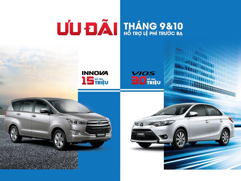 Mua xe Toyota Vios tháng 9 có khuyến mãi gì ?