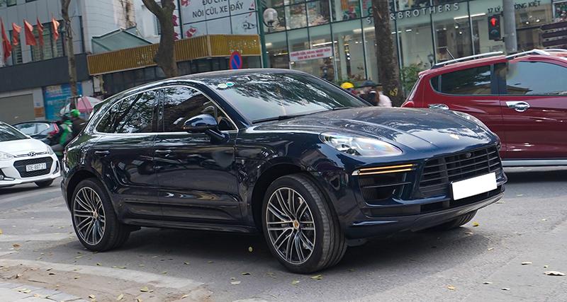 Porsche Macan Turbo đời mới giá hơn 5 tỷ đầu tiên lăn bánh tại Việt Nam