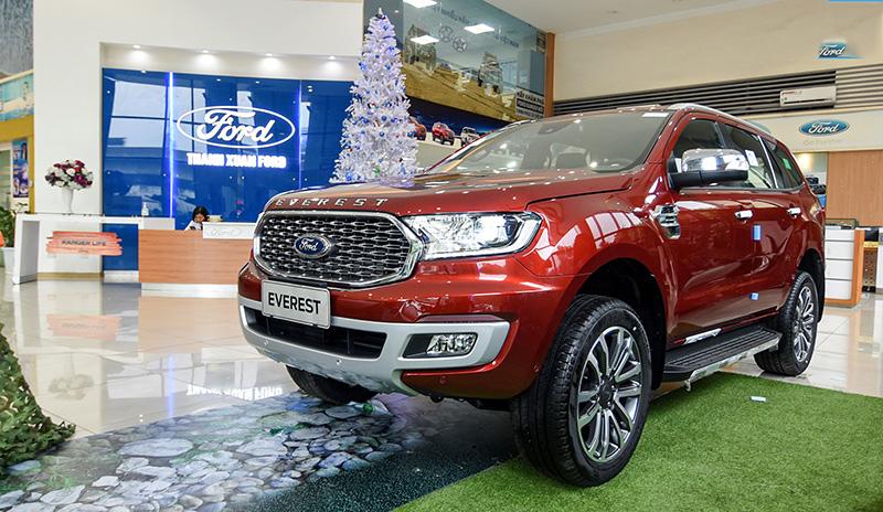 Chi tiết xe Ford Everest 2021, giá bán kèm giá lăn bánh tại Việt Nam
