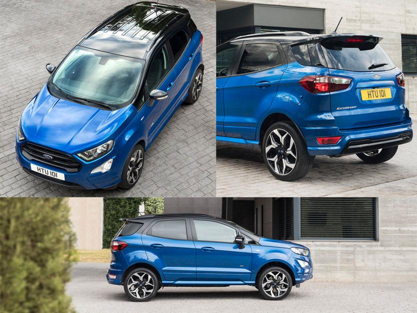 Xe Ford Ecosport 2018 tại Châu Âu giá từ 20.990 USD