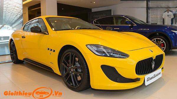 Chi tiết xe xe Maserati GranTurismo Sport 2019, kèm giá bán 08/2019