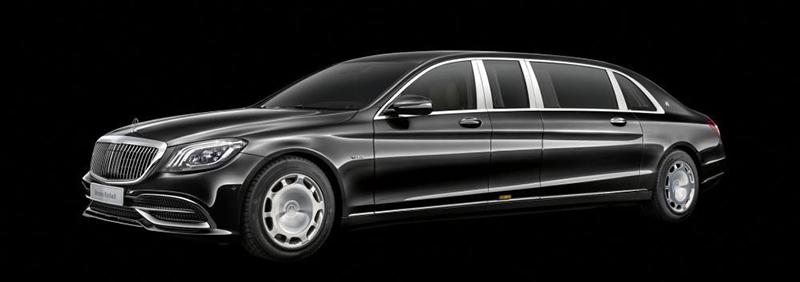 Mercedes-Maybach Pullman 2020 siêu xe dài 6,5m giá hớn 600.000 usd