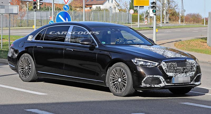 Trước ngày ra mắt xe Mercedes Maybach S-Class mới, đỉnh cao mới của xe chủ tịch