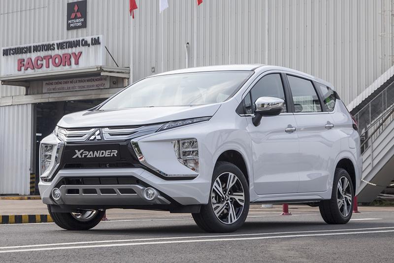 Không được ưu đãi trước bạ, Mitsubishi Xpander nhập khẩu khuyến mại giá lăn bánh chưa đến 600tr